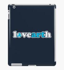 lovearth *blue iPad Case/Skin