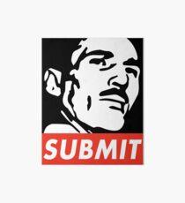 Helio Gracie Submit Art Board