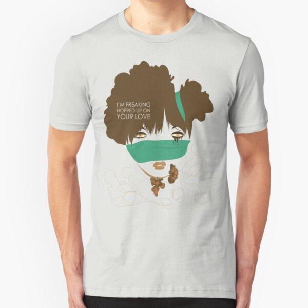 love high (tee) Slim Fit T-Shirt