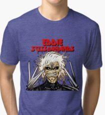 Eddie Scissorhands Tri-blend T-Shirt