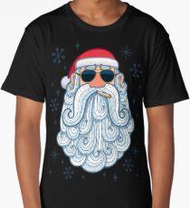 Santa Portrait 3 - Cool Long T-Shirt