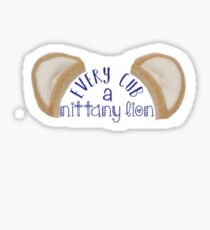 every cub a nittany lion  Sticker