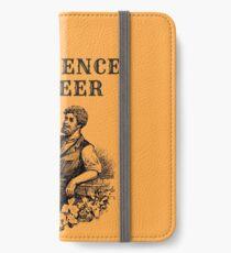 No Science No Beer  iPhone Wallet/Case/Skin