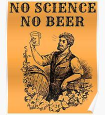 No Science No Beer  Poster