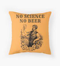 No Science No Beer  Floor Pillow