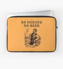 No Science No Beer  Laptop Sleeve