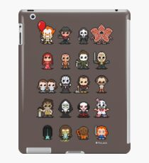 16-bit Horror Movies - 2017 IT ver. iPad Case/Skin