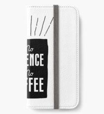 No Science, No Coffee iPhone Wallet/Case/Skin