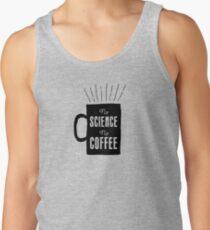 No Science, No Coffee Men's Tank Top