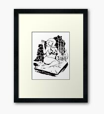 Dungeon. Framed Print