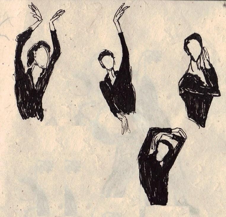 four arm drapes by cosine