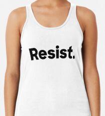 Resist. Women's Tank Top