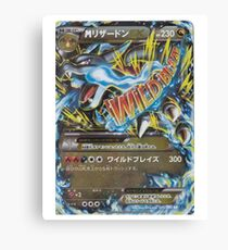 Pokemon - Mega Charizard X Canvas Print