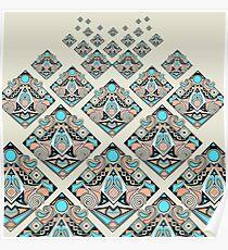 Unproductive square doodle  Poster