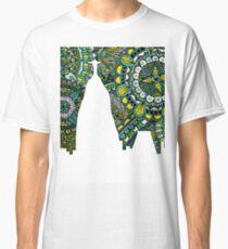 Rio de Janeiro Brazil Skyline Zentangle Art Classic T-Shirt