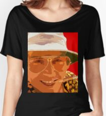 Johnny Depp - Fear and loathing Women's Relaxed Fit T-Shirt