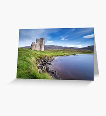 Ardvreck Castle, Loch Assynt, Scotland Greeting Card