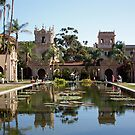 Lily Pond in Balboa Park by Jan  Wall