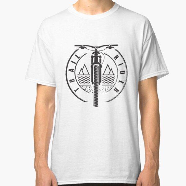 Trail Rider - Black - Mountain Bike Classic T-Shirt