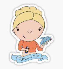 Sploosh! Sticker