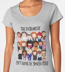 Patriarchy, SMASH Women's Premium T-Shirt