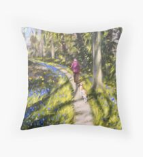 Dappled Daydreams Throw Pillow