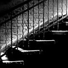 The Stairwell in a dilapidated Hospital by Imi Koetz
