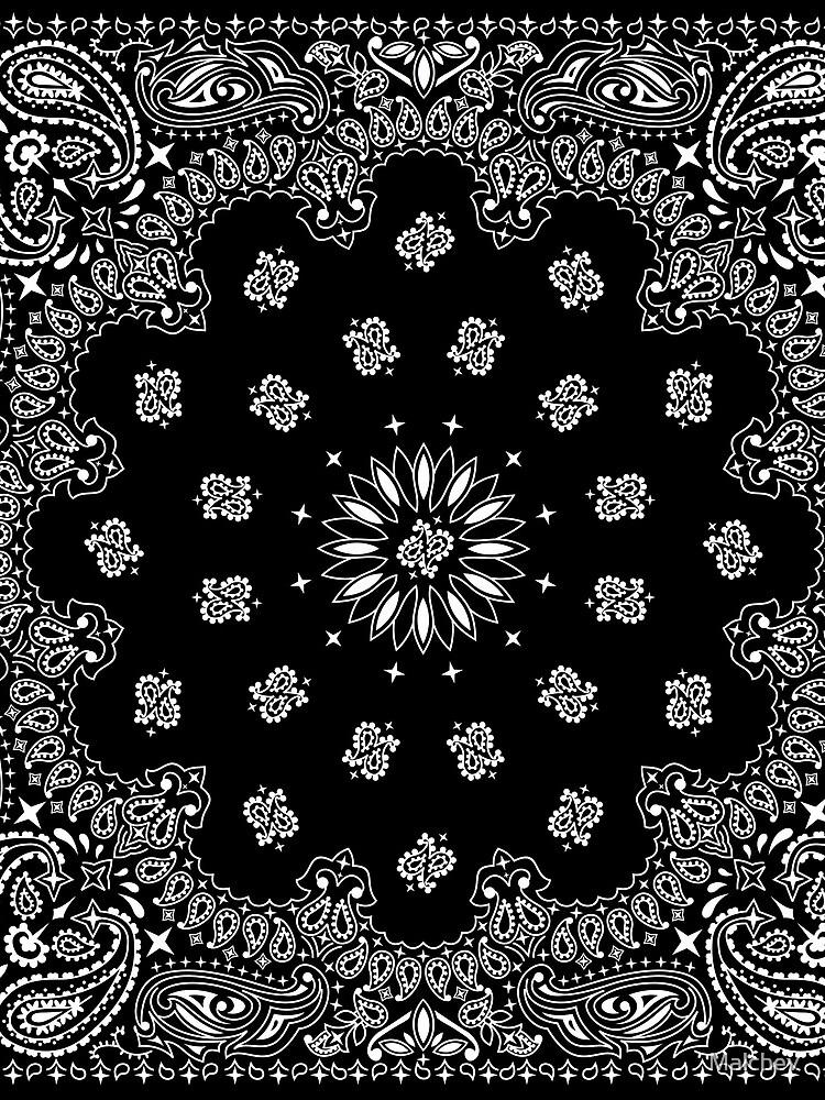 Bandana Black by Malchev