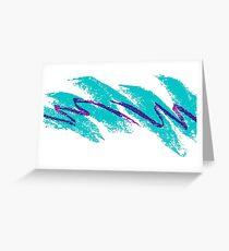 Vaporwave pattern Greeting Card