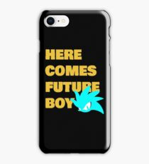 Here Comes Future Boy iPhone Case/Skin