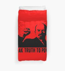 LENIN-SPEAK TRUTH TO POWER Duvet Cover