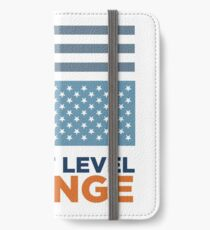Threat Level Orange iPhone Wallet/Case/Skin