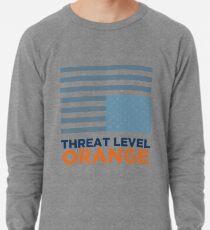 Threat Level Orange Lightweight Sweatshirt