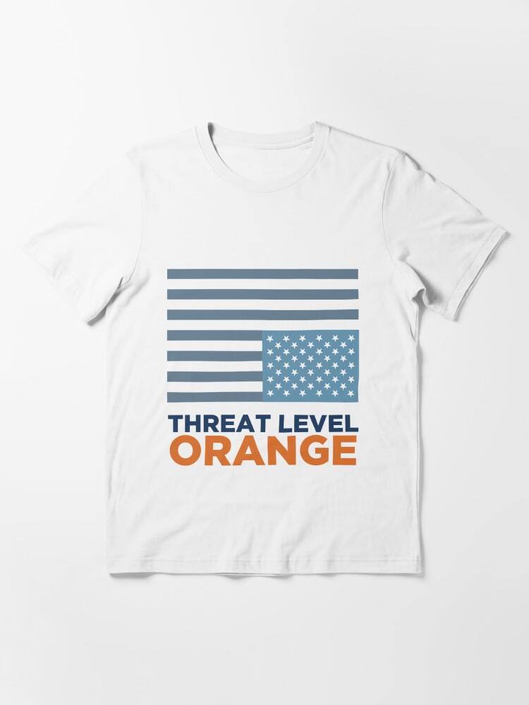 Alternate view of Threat Level Orange Essential T-Shirt