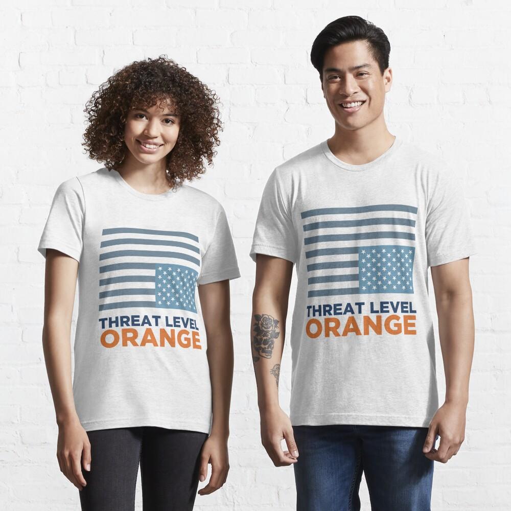 Threat Level Orange Essential T-Shirt