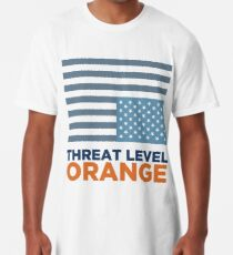 Threat Level Orange Long T-Shirt