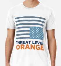 Threat Level Orange Men's Premium T-Shirt
