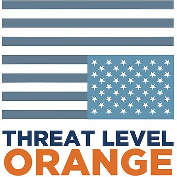 Threat Level Orange by HappyResistance