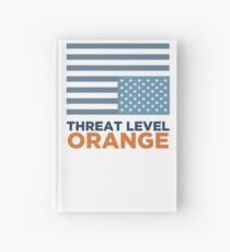Threat Level Orange Hardcover Journal
