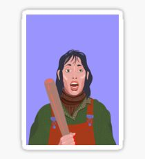 The Shining Kubrick Girl Sticker