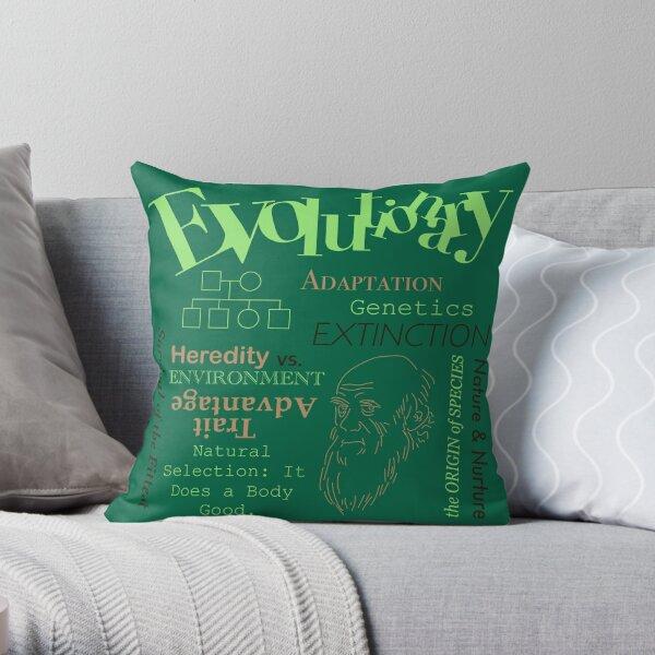 AP Psychology - Evolutionary Throw Pillow