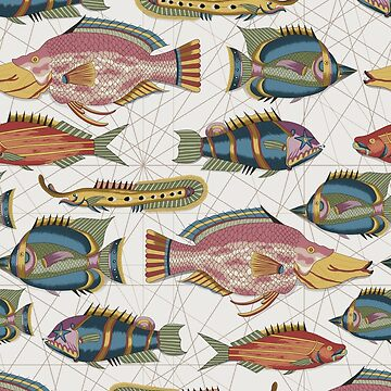 Tropical Fishes of the East Indies Pattern by runcatrun