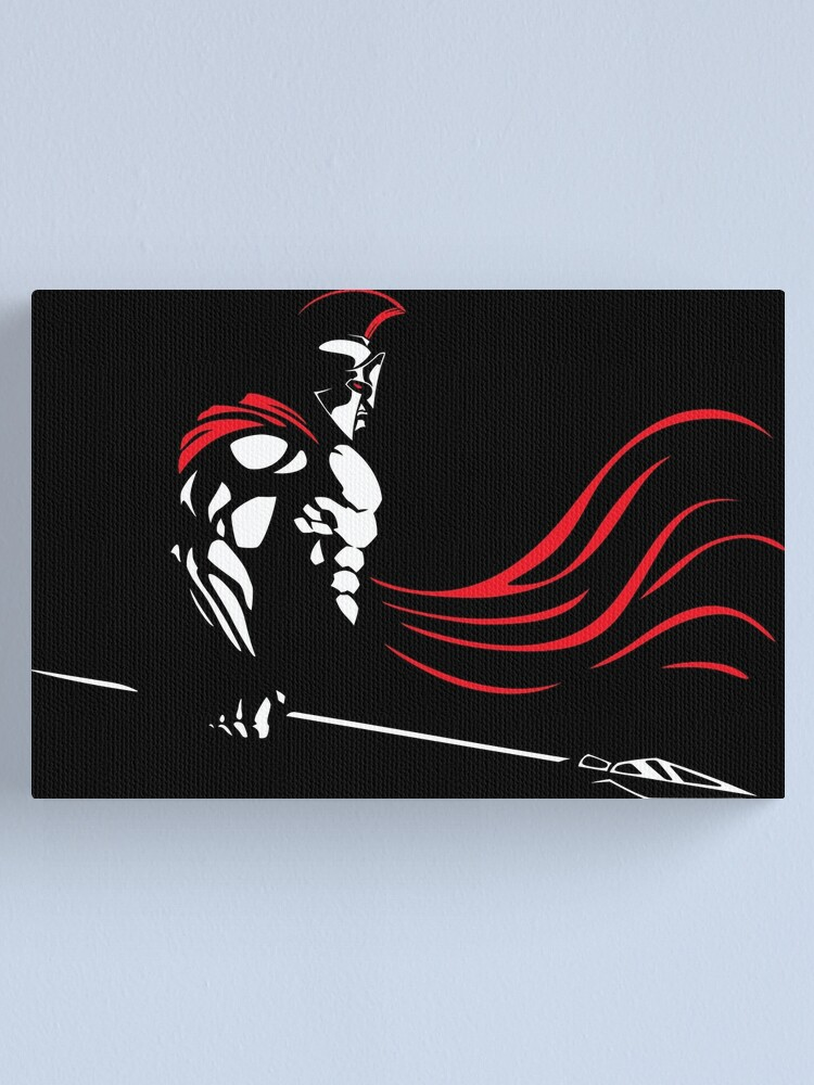 Alternate view of Spartan Canvas Print