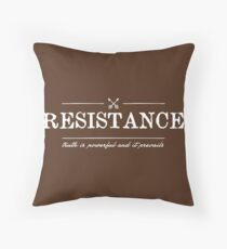 Truth is Powerful and It Prevails Throw Pillow