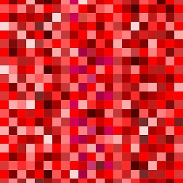 Red pixels by Kreativista