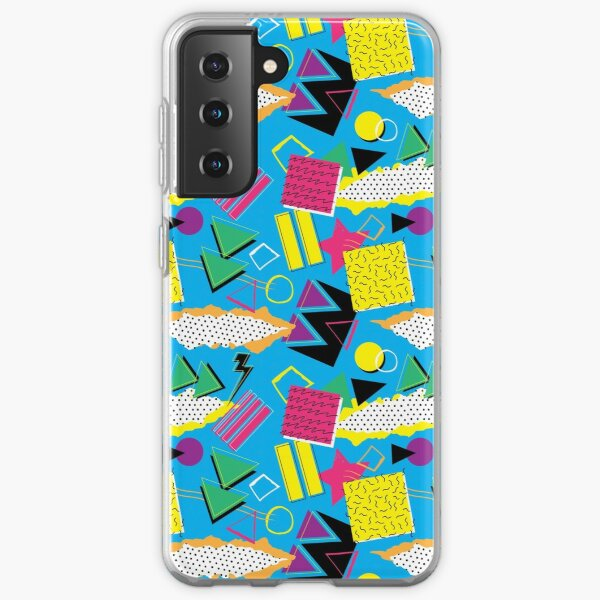 90's pattern Samsung Galaxy Soft Case