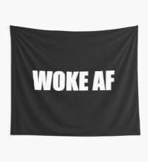 WOKE AF Wall Tapestry