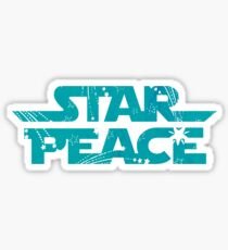 Star Peace Sticker