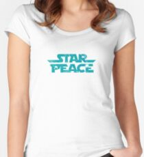 Star Peace Women's Fitted Scoop T-Shirt
