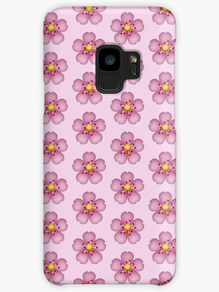 Pink flower emoji cases skins for samsung galaxy by allihessel pink flower emoji by allihessel mightylinksfo